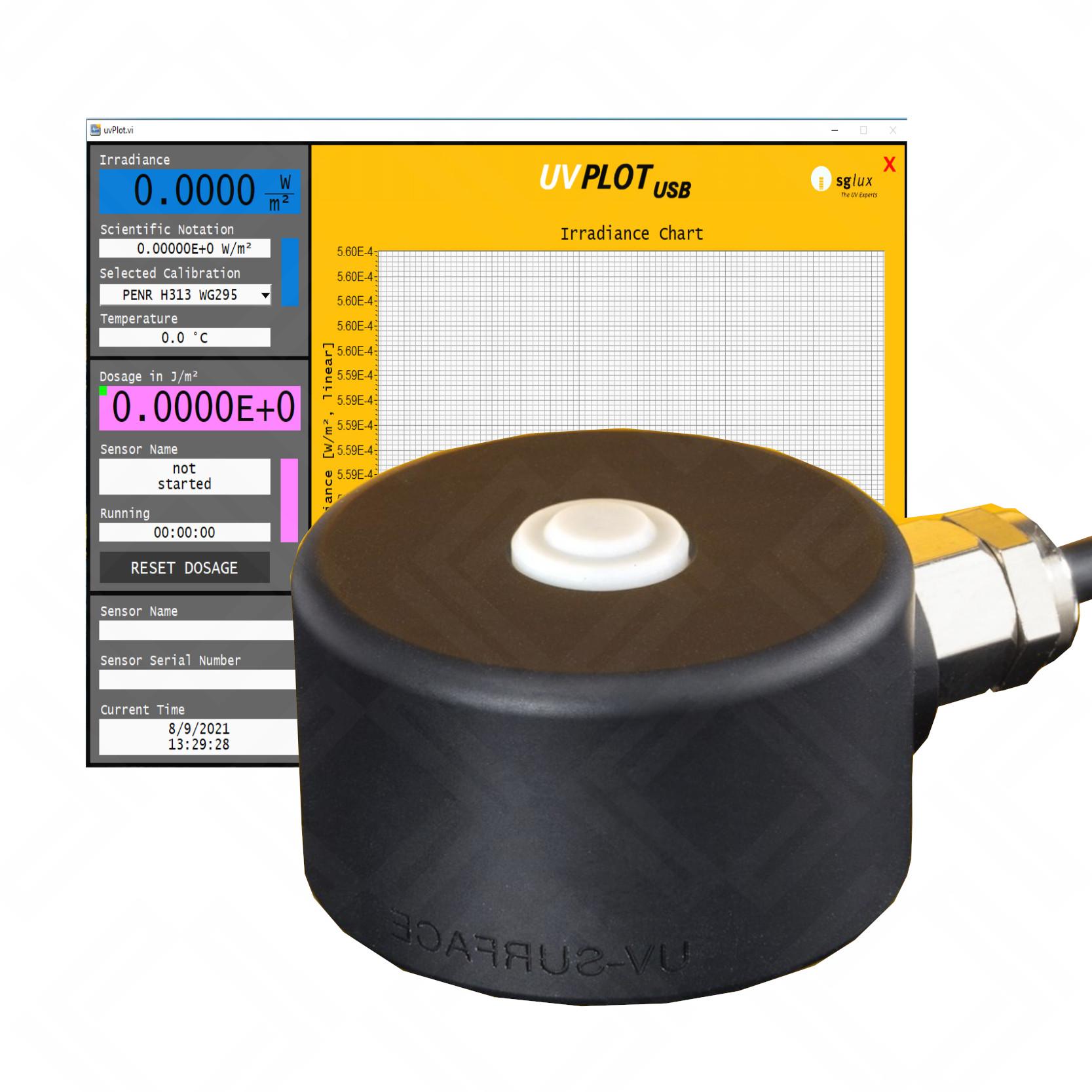 SgLUX UV-Surface Radiometer