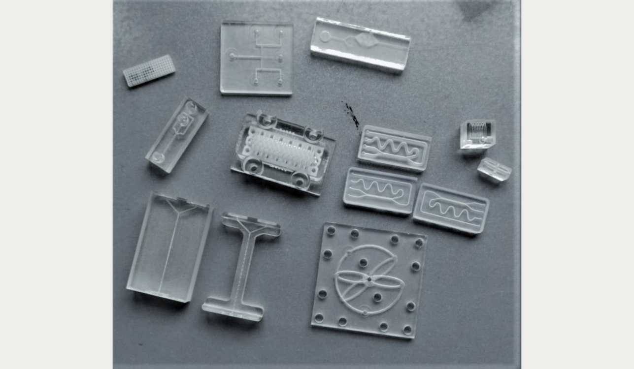 Asiga 3D printers for research : microfluidics